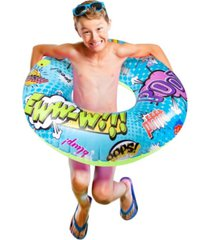 poolcandy fartmaster swimming pool tube with audio