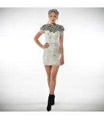 tworzysława mini - koronkowa suknia ślubna