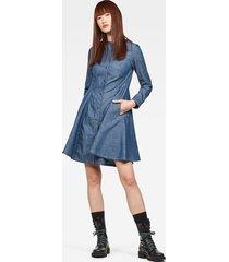 bristum slim flare fringe jurk
