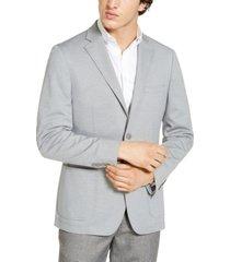 calvin klein mens slim-fit knit sport coat