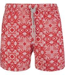 capri code red swimsuit with white fantasy
