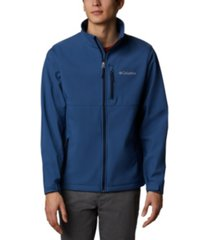 columbia men's ascender water-resistant softshell jacket