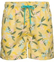 lemon flowers swim shorts cf zwemshorts geel gant