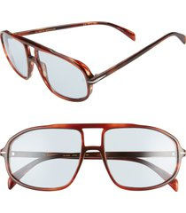 men's eyewear by david beckham db 1000/s 59mm photochromic pilot sunglasses -