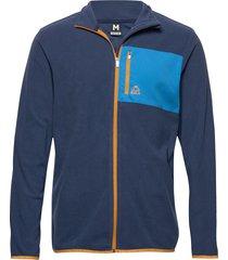 fleece jacket sweat-shirt tröja blå bula