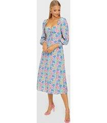 faithfull the brand mathilde midi dress loose fit dresses