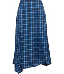 lala skirt knälång kjol blå nué notes
