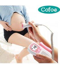 doppler ultrasonido embarazo fetal portátil cofoe envio inmediato