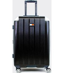 "tommy hilfiger women's 24"" spinner suitcase black -"