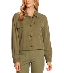 vince camuto button utility jacket