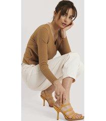 na-kd shoes sandaler - yellow