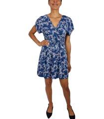 be bop juniors' paisley-print dress