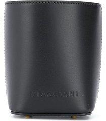 nico giani adenia micro bucket bag - black