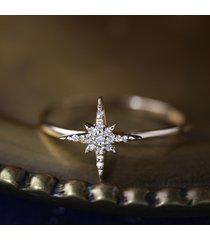 0.15 ct diamond 925 silver starburst disney frozen christmas fashion gift ring