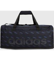 maletín azul adidas performance linear logo
