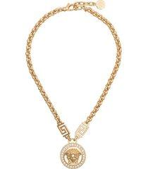 medusa medallion necklace