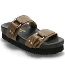 calinas shoes summer shoes flat sandals brun re:designed est 2003