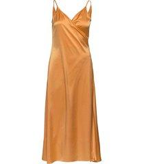 callie dress jurk knielengte oranje filippa k