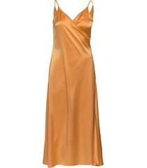 callie dress jurk knielengte oranje filippa k