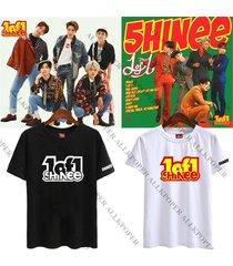kpop shinee 5th album 1of1 t-shirt unisex onew key taemin tee tshirt