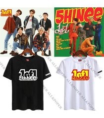 kpop shinee 5th album 1of1 t-shirt unisex onew key taemin tee tshirt