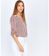 blusas vinotinto derek 819462