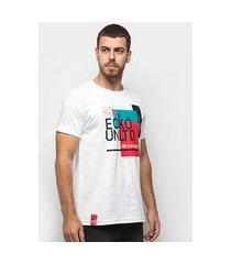 camiseta ecko geométrico masculina