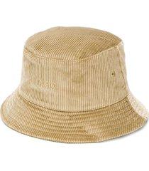 a.p.c. alex corduroy bucket hat - neutrals