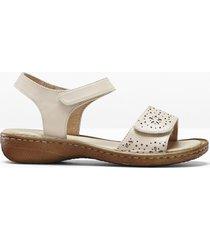 sandali in pelle (beige) - bpc selection