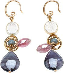antica murrina designer earrings, grimani t top earrings