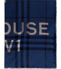 burberry wool-silk blend scarf
