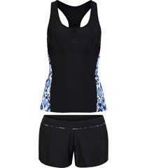 tankini (set 2 pezzi) ad asciugatura rapida (nero) - bpc bonprix collection