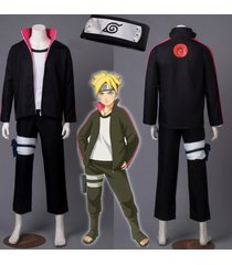 boruto -naruto the movie naruto uzumaki boruto cosplay costume anime outfit