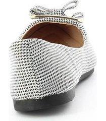 baletas para mujer marca via spring color gris via spring - gris