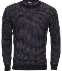 sweater azul redskin bicolor