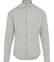 pop bengal stripe slim shirt