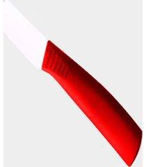 faca cerâmica gourmet cozinha lâmina 23 cm