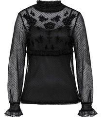 maglia in mesh (nero) - rainbow