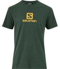 t-shirt coton logo ss tee m