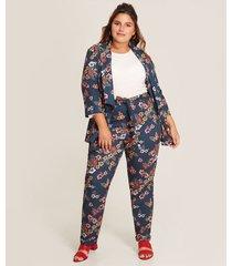 pantalón floral lazo