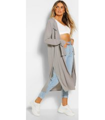 self tie wrist kimono, light grey