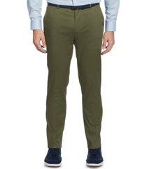 perry ellis portfolio men's slim-fit stretch cotton dress pants