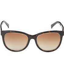 53mm gradient oval sunglasses