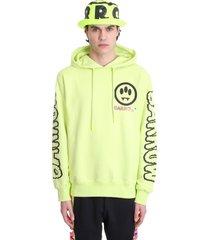 barrow sweatshirt in yellow cotton