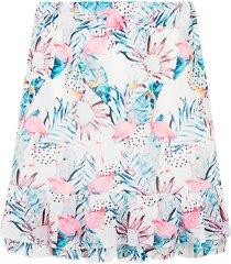 flamingo laagjes rok