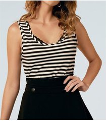 camiseta liz easywear regata listrada feminino - feminino