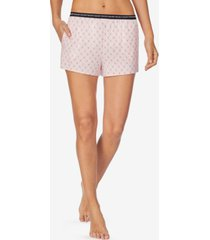 dkny women's printed pajama boxer shorts