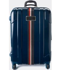 "tommy hilfiger women's 28"" spinner suitcase navy -"