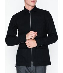 ciszere brooke overshirt jacket jackor black