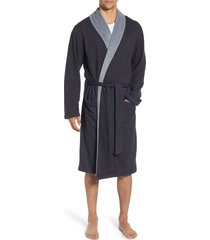 men's ugg robinson robe, size large/x-large - black